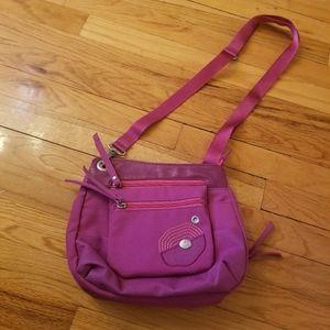 Haiku Pink Crossbody Bag